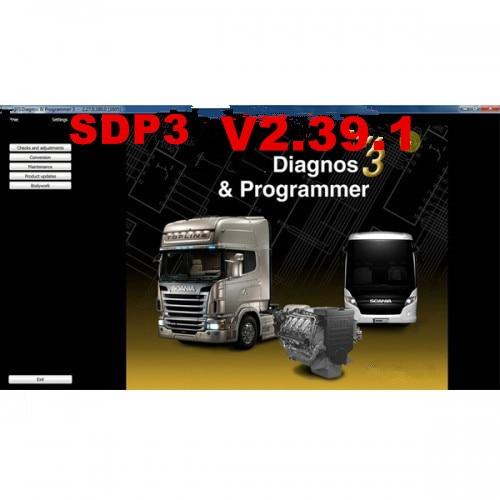 Wifi Scania Vci-3 Heavy Duty Truck Scanner Scania Vci3 V2.31 V2.38 V2.39 Sdp3 Vci-3 Scanner Sdp3 Vci3 Scania Truck Diagnosis Engine Analyzer Diagnostic Tools