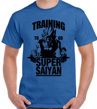 PALESTRA To Go Super Saiyan Uomo T-shirt DRAGON BALL Z FITNESS MAGLIA Free shipping tshirt Harajuku Tops Fashion сумка printio training to go super saiyan