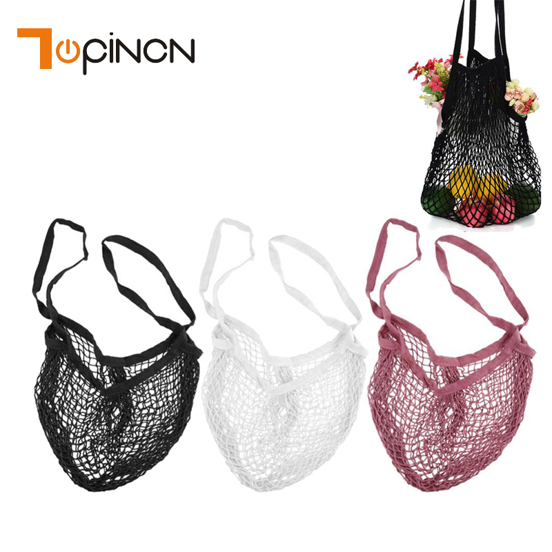 ef5e31f26e9b US $2.99 22% OFF|Reusable Mesh Produce Bags Cotton String Fruit Vegetable  Toys Sundries Organizer Shopping Mesh Net Storage Bag Handbag Totes-in ...