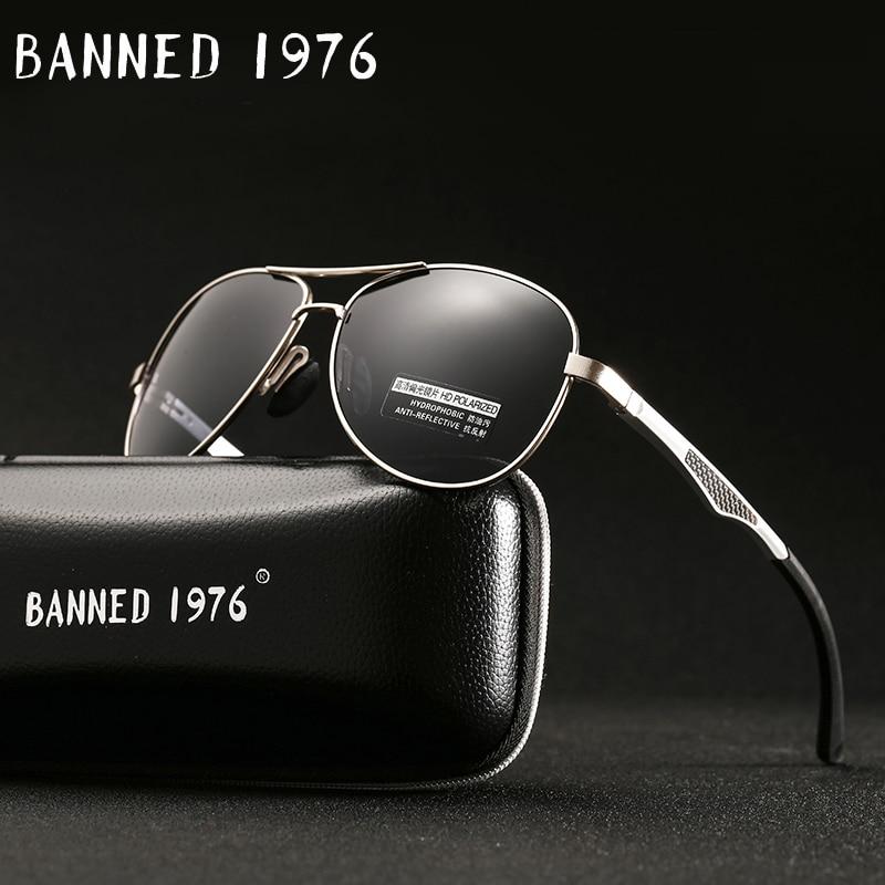 2017 Aluminium Magnesium Rahmen Frühjahr Scharnier Bein Designer Polarisierte Sonnenbrille Für Männer Mode Fahren Sonnenbrille Mit Geschenk Box