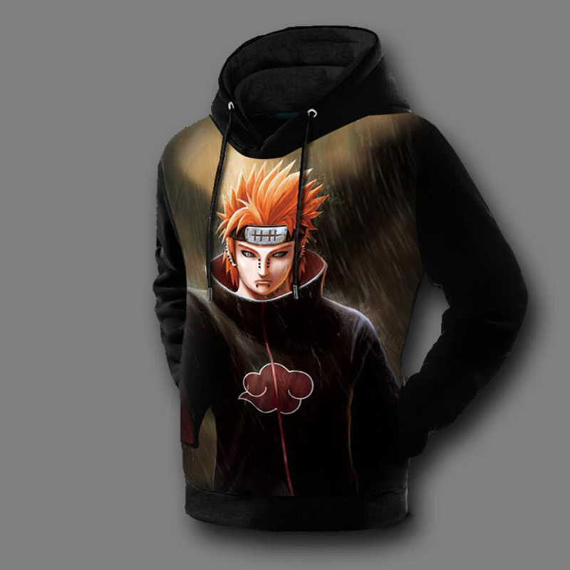 Naruto 3d Hoodies Men Anime Printed Men Women Long Sleeve ...