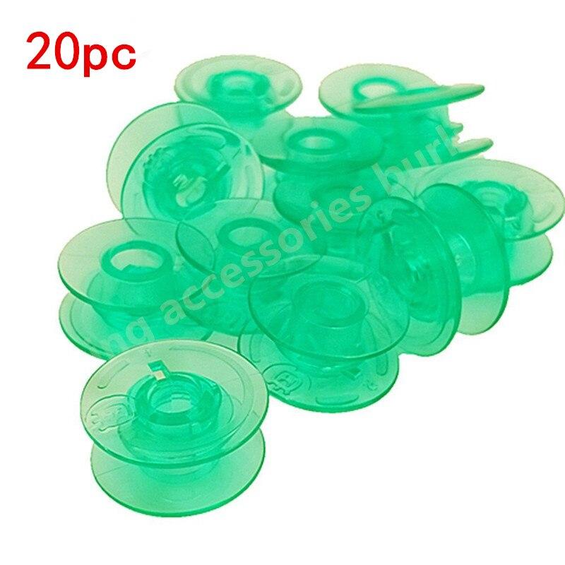 for Husqvarna Viking,#4123078 Plastic Bobbins 20pc