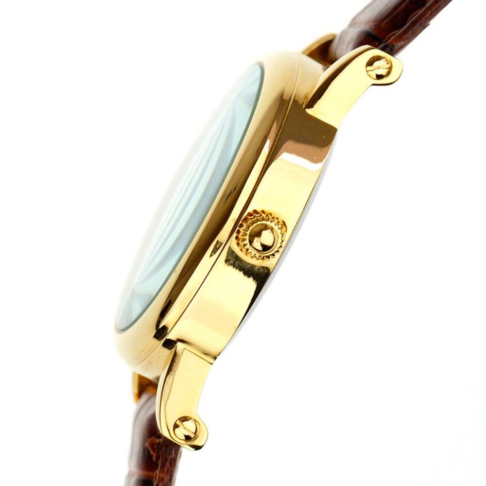 d54ca60786f PACIFISTOR Mens Relógios Top Marca De Luxo 2018 Relógio de Ouro Dos Homens  De Couro Marrom Do Vintage Retro Roman Relógios para Homens Relogio  masculino em ...