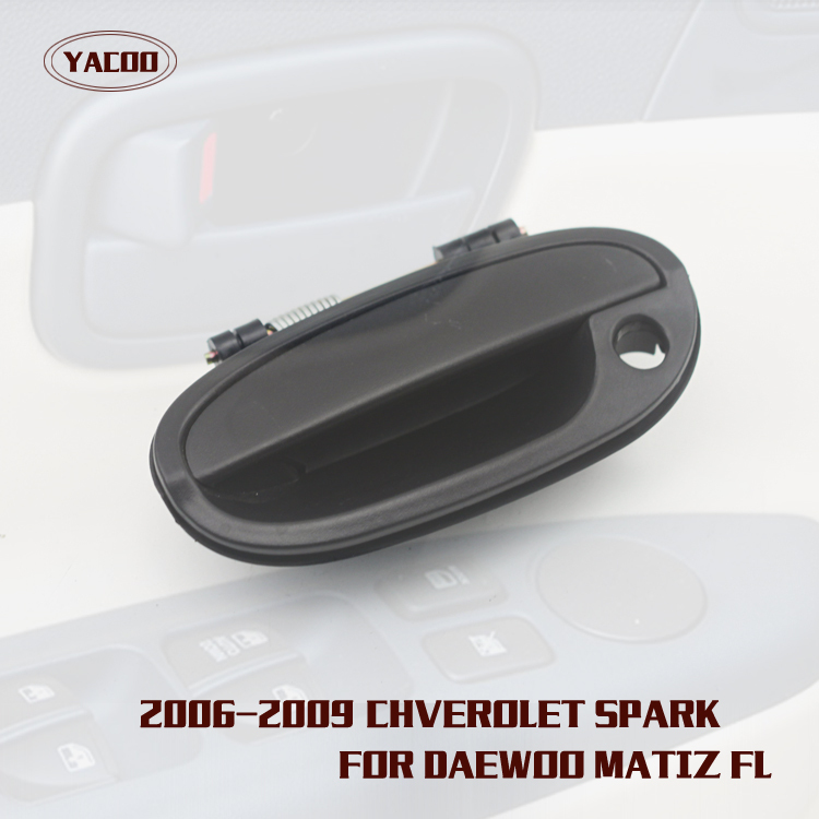 Set 4 Outside Exterior Front Rear Door Plating Handle for Kia Carens 2003-2006