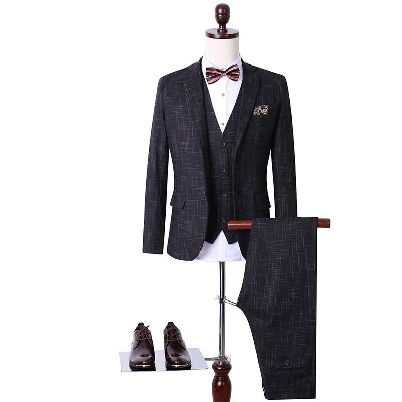 Men Suits Large Size 2016 New Brand Wedding Dress Men