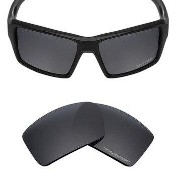 c99b2d74d8 Mryok + polarizadas resistir mar reemplazo Objetivos para Oakley eyepatch 2  Gafas de sol Stealth Black