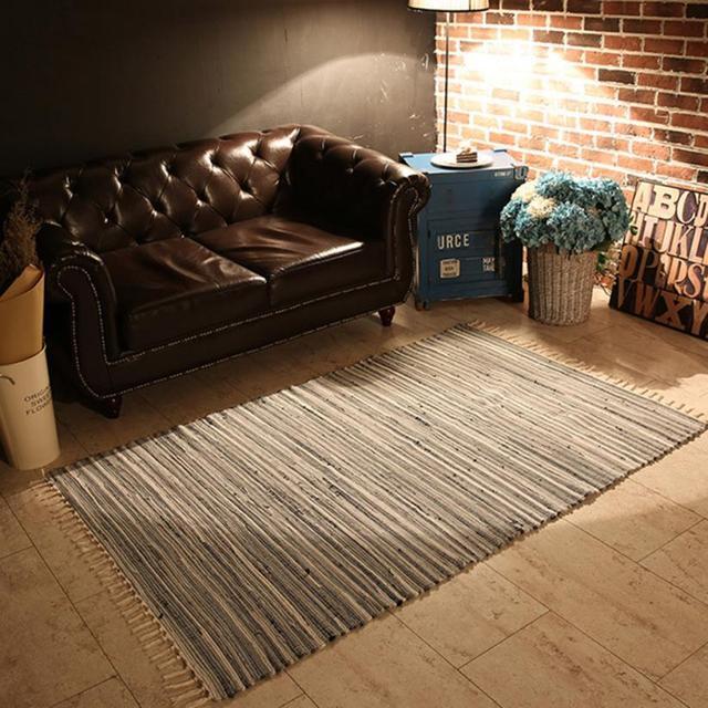 fashion area rugs mediterranean style cotton kitchen oblong shape rh aliexpress com