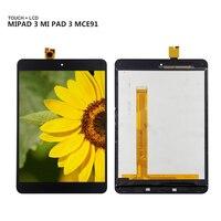 Xiao mi mi pad 3 mi pad 3 xiao mi mi 패드 3 mi 패드 3 mce91 디스플레이 패널 lcd 콤보 터치 스크린 유리 센서 교체 부품