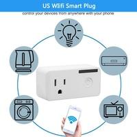 USB Smart Power Strip Intelligent Plug Socket WiFi Wireless Remote Power On Off With Electricity Calculator