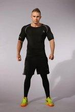 Tightening Leggings Compression Shirt Body Lotion Sportswear Fitness Men's Long Slippers T-Shirt T-Shirt X-623
