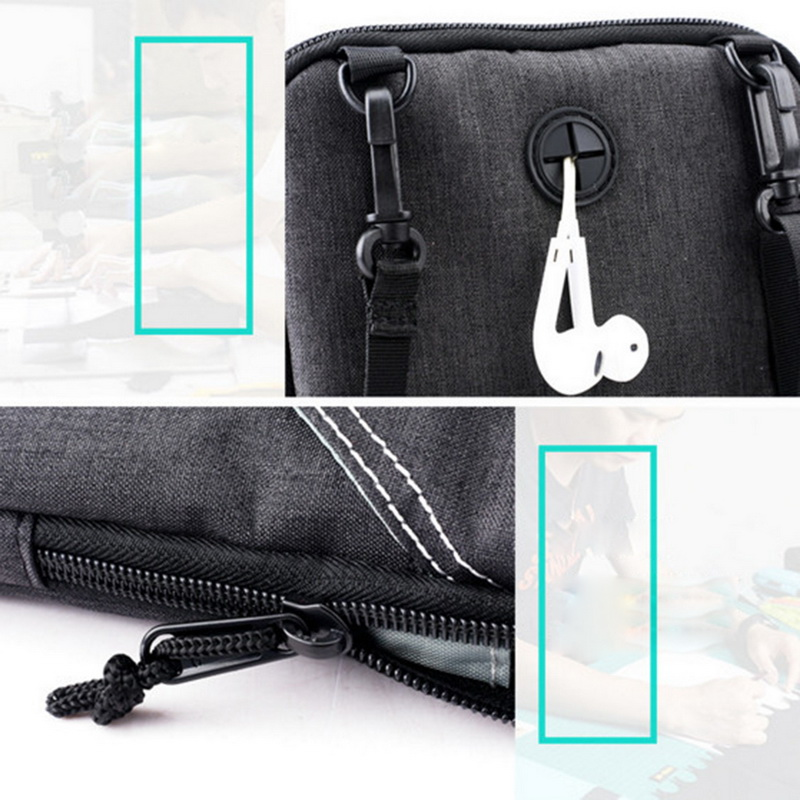 2c256c7b72 Bag Proof Nuovo Usb Casual Blue Tracolla Dark Uomini Messaggio Water pocket  Spalla Nibesser Ricarica Oxford Donne Grey Con dark Di Delle Holder  Sacchetto ...