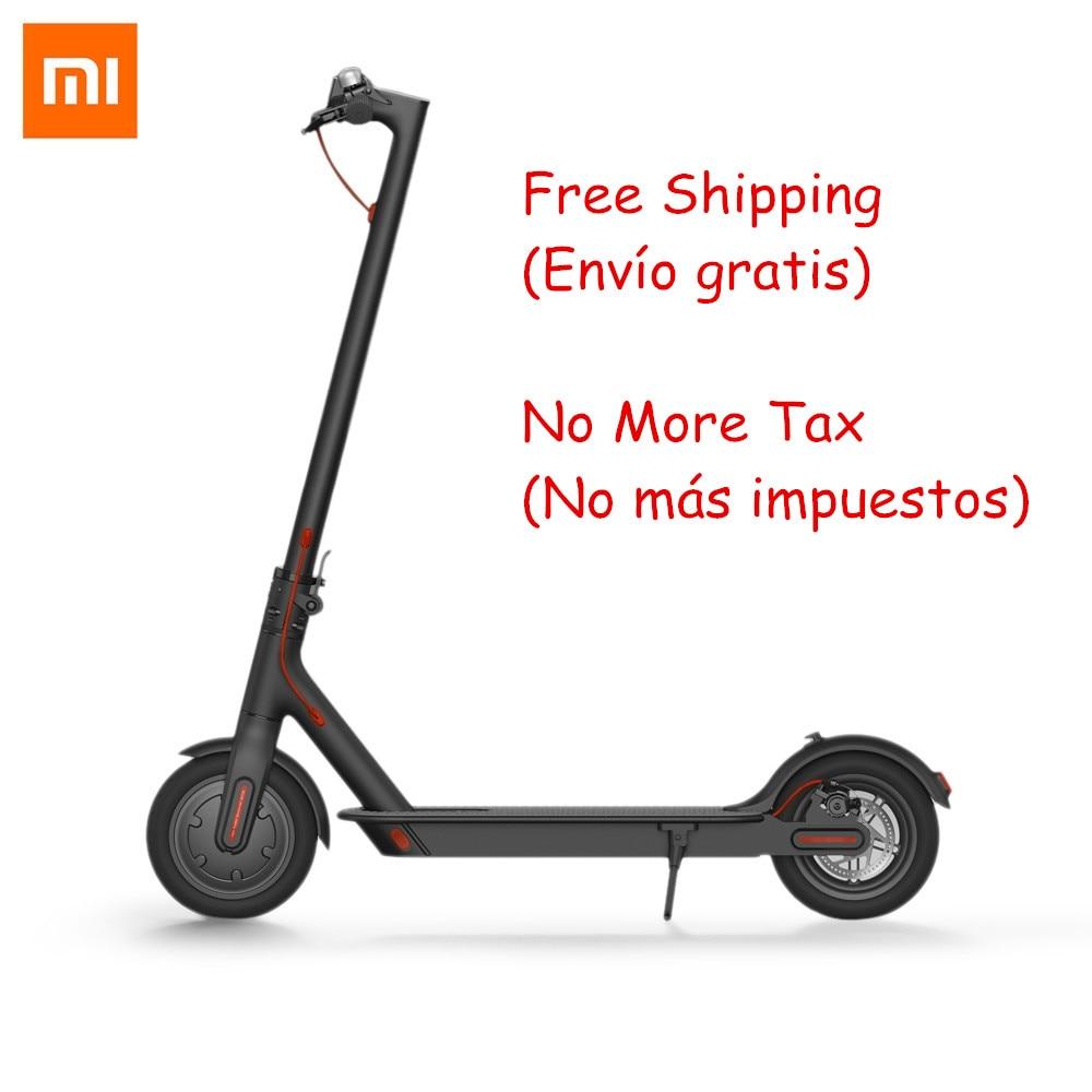 Оригинальный Xiaomi Mijia M365 Smart Электрический самокат складной легкий длинная доска скейтборд Ховерборд 30 км