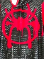 Miles Animated Miles Morales Spiderman Superhero 3D Spandex Cosplay Spiderman Zentai Suit Custom Bodysuit Hot Sale