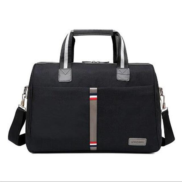 2018 bolsas de hombro portátiles plegables impermeables para hombre bolsa de viaje equipaje de viaje de gran capacidad bolso de viaje para mujer más color