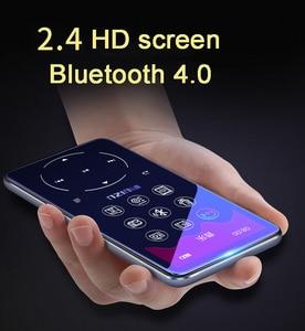 Image 2 - Ruizu D16 8G métal Bluetooth lecteur MP3 haut parleur intégré avec radio FM enregistreur vocal ebook lecteur de musique vidéo Portable
