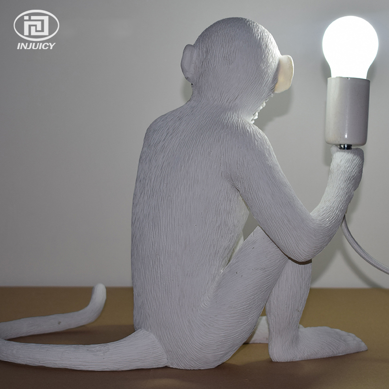 Loft Vintage Resin Monkey Desk Light Industrial Retro Edison Table Lamp  Cafe Bar Coffee Shop Store Decorate Lighting In Desk Lamps From Lights U0026  Lighting On ...