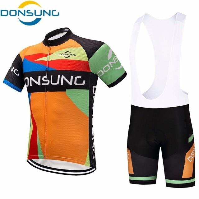 Men s cycling kit 2018 Pro racing Team cycling set MTB Summer cozy short  sleeve Jersey Set road bike Riding suit Ropa ciclismo c4b48dbe6