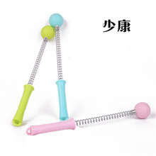 Manual whole body massage stick, slimming ball, relieve neck fatigue, golf hammer, spring hammer