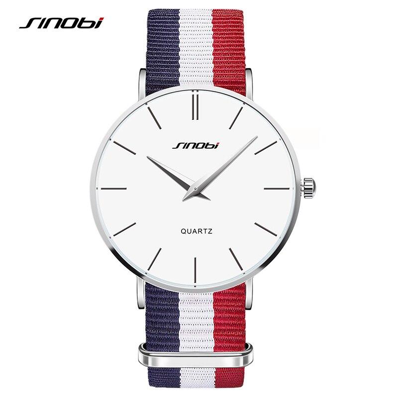 SINOBI Brand Classic Wrist Watches For Men Women Quartz Unisex Watches Fashion Dress Clock Daniel Style Relojes Masculino 2019