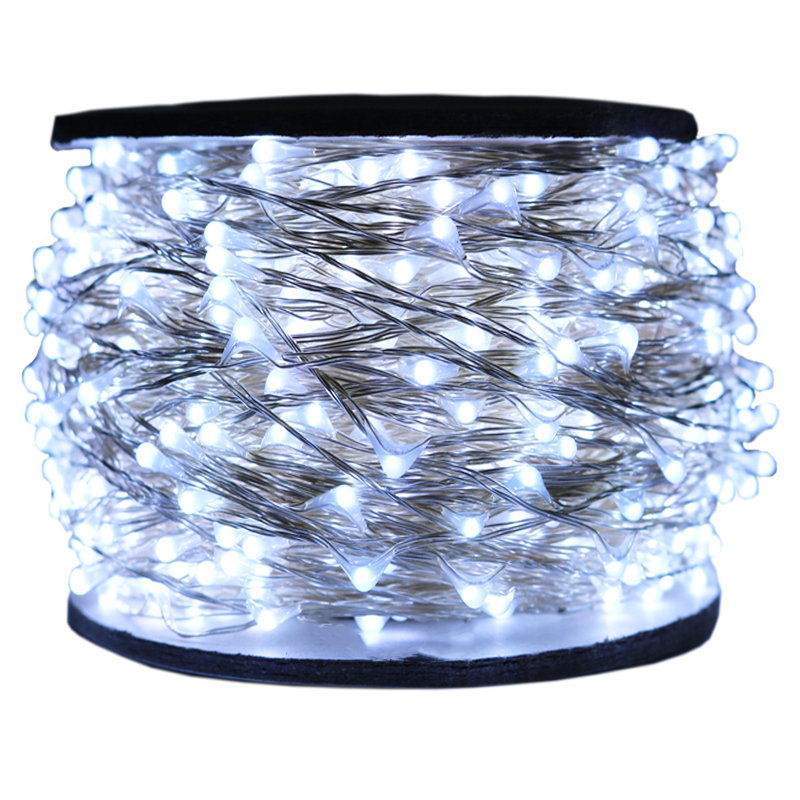 The Longest 30M 50M 100M 1000LED Garland Light Decoration Wedding New Year's Garlands Fairy Street Lights for Valentine's Day