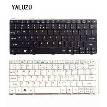 """ארה""""ב מקלדת עבור Acer Aspire אחד D255 D257 AOD257 D260 D270 521 532 532H 533 AO521 AO533 NAV50 שחור מקלדת מחשב נייד"""