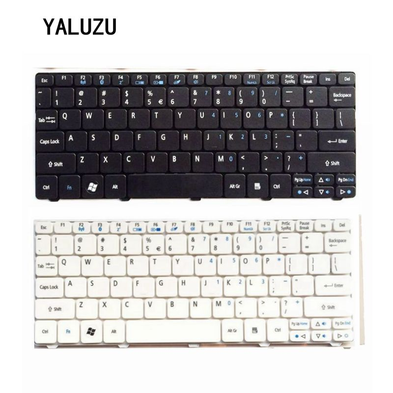 US Keyboard For Acer FOR Aspire One D255 D257 AOD257 D260 D270 521 532 532H 533 AO521 AO533 NAV50 Black Laptop Keyboard