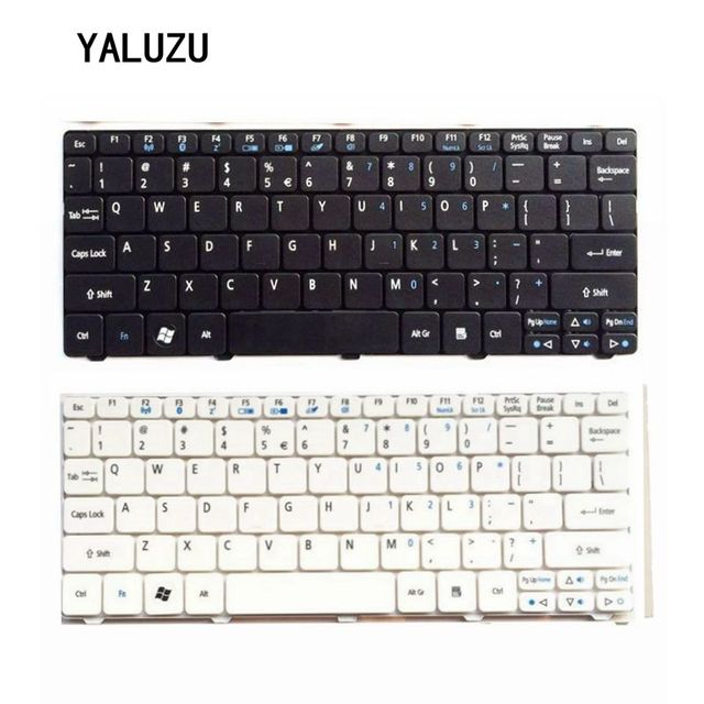 US Keyboard For Acer FOR Aspire One D255 D257 AOD257 D260 D270 521 532 532H 533 AO521 AO533 NAV50 Black Laptop Keyboard