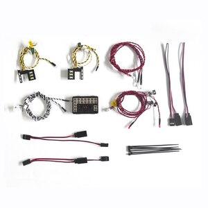 Image 2 - Gkrc Sản Phẩm Mới Hệ Thống Đèn Led Trước & Sau Đèn Nhóm 1/10 RC Xe Traxxas TRX4 Bronco Trước Và lưng Đèn Pha