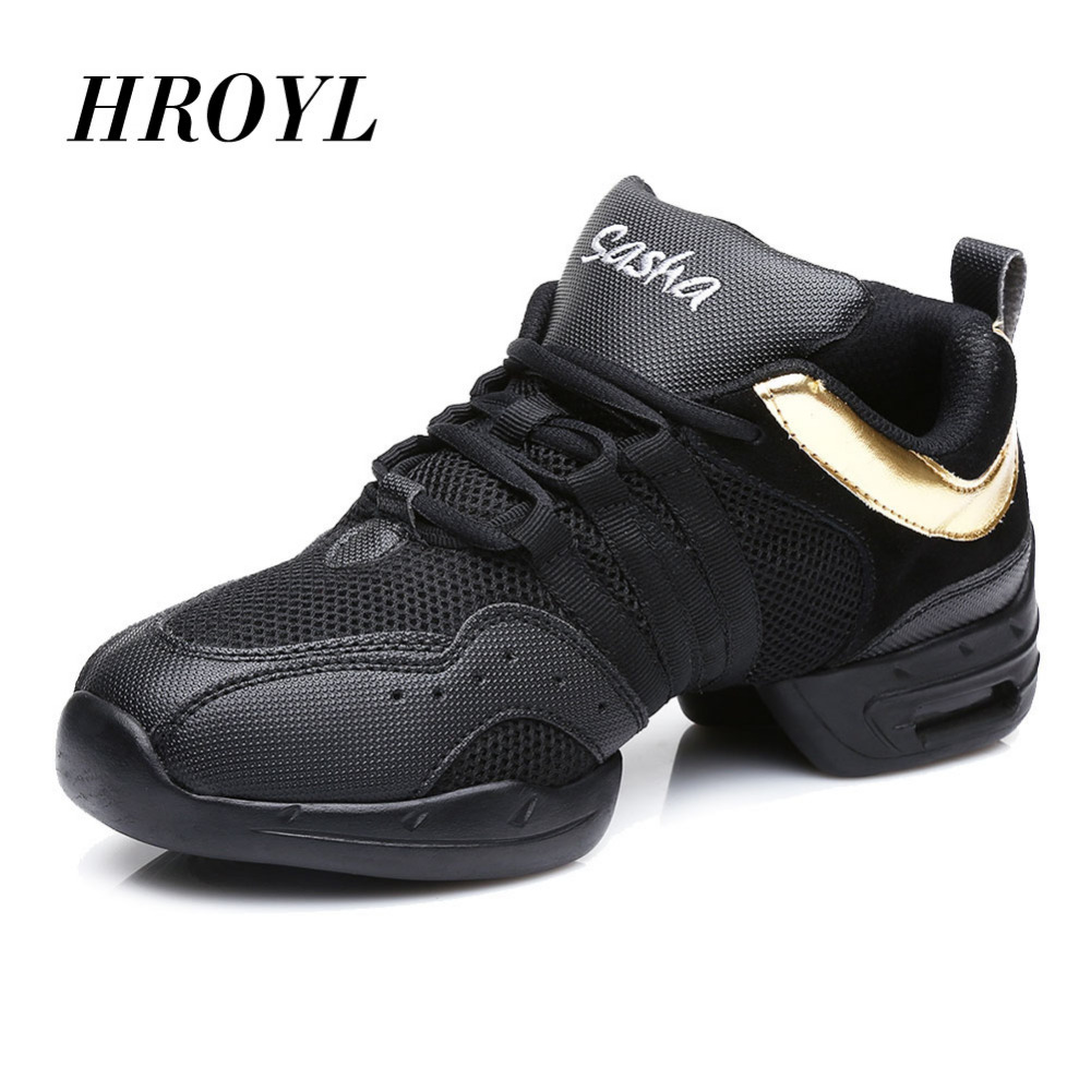 Sports Feature Soft Outsole Breath Dance Shoes Sneakers For Woman Men Practice Shoes Modern Dance Jazz