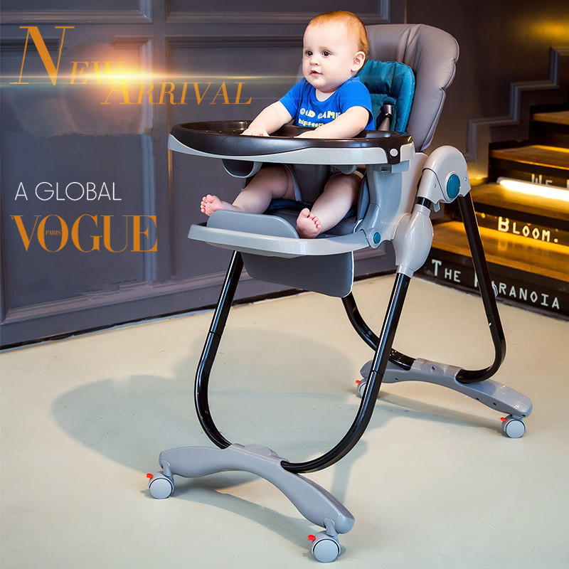Multifunctional Dining Table Baby Chair Portable Infant Seat Adjustable Folding Baby Dining Chair High Chair Baby Feeding Chairs