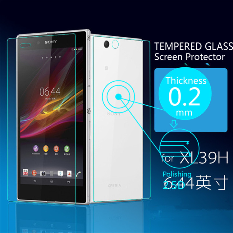 Ultra Thin 0.2mm Premium Explosion-Proof Front & Back Tempers