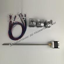 Ultimaker 2 МКМ2 Расширенный X/Y/Z оси + экструдер шаговый двигатель комплект/набор для DIY 400 м L Z-Двигатель с Трапециевидной Ходового Винта