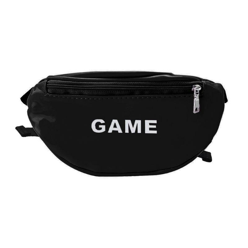2019 Laser Waist Bags For Children Baby Girl Letter Funny Pack Mini Kids Girl Shoulder Bags Women Money Waist Packs Belt Bag