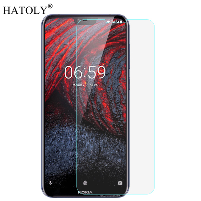 For Tempered Glass Nokia 6.1 Plus Glass Thin Film 9H Hard Screen Protector for Nokia 6.1 Plus Tempered Glass for Nokia 6.1 Plus