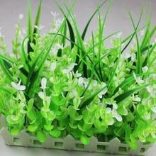 10*20 см прямоугольник пушистый искусственная пластмассовая трава цветок забор на лужайке для свадьбы Дома Офиса место украшение дизайн-05