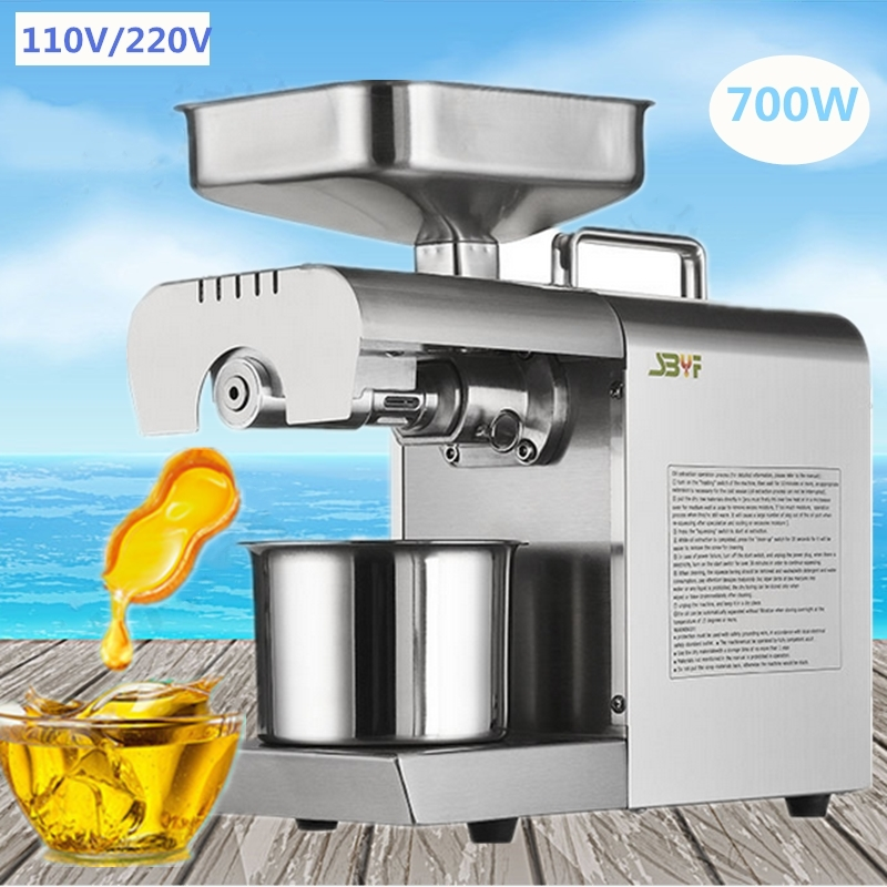 Brand New Home Cold Press Small Oil Screw Press Machine Nut & Seed Oil Expeller Press Machine Vegetable Oil Extractor brand new home cold press small oil screw press machine nut