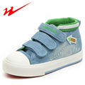 DOUBLE STAR Children Shoes Velcro High Help Kids Shoes Denim Outdoor Walking Shoes Comfort Boy Sneakers Girls Shoes