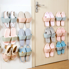 PP Plastic Shoe Shelf Wall Rack Shoe Hanger Care Organizer Space Saving Shoe  Racks Holder
