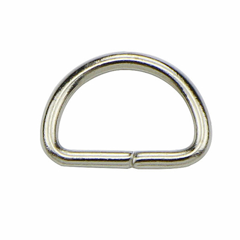 10Pcs/lot Matal D Ring D Jump Ring Snap Hook Trigger Lobster Clasps Clips DIY Bag Parts Accessories