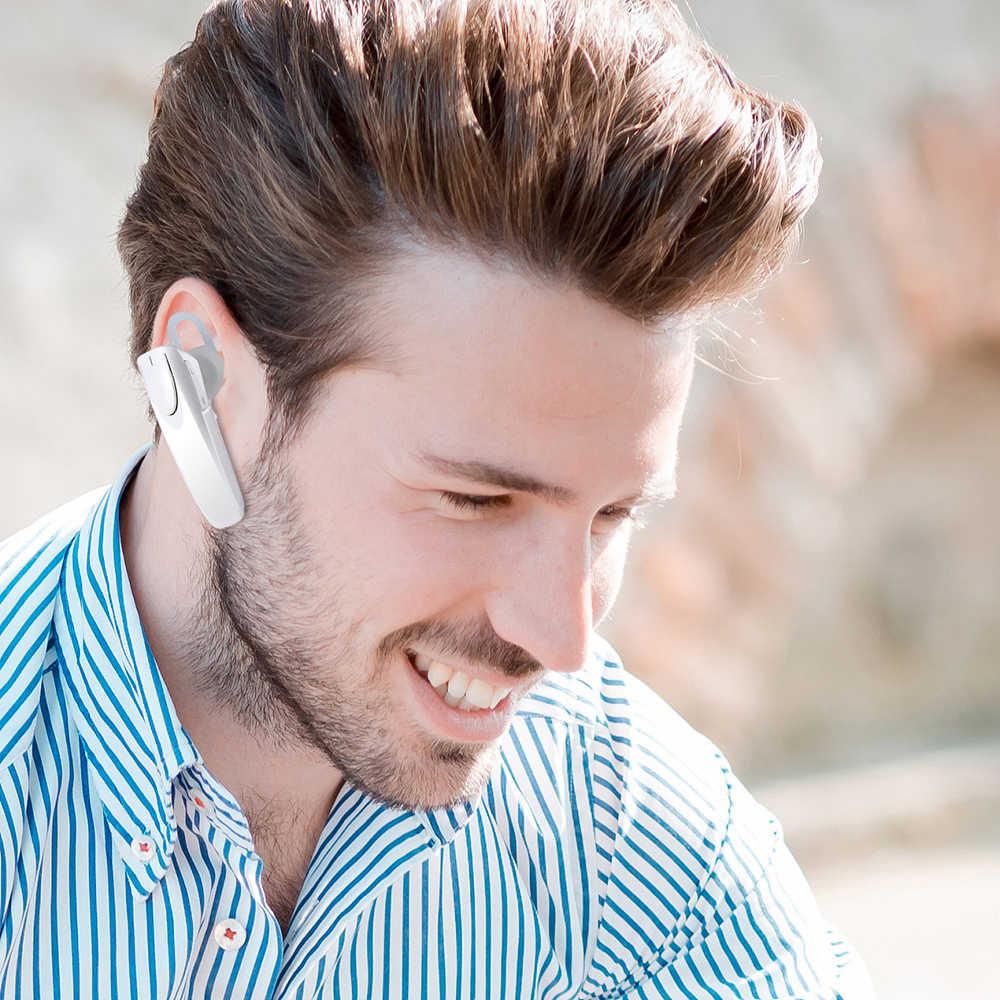 Kebidu nowy bezprzewodowy zestaw słuchawkowy bluetooth zestaw głośnomówiący biznesowy zestaw słuchawkowy z mikrofonem sportowe słuchawki bluetooth dla iphone Samsung