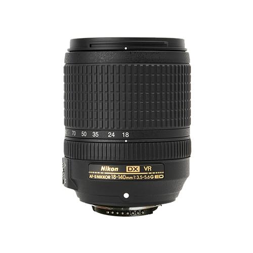 Nikon AF-S DX 18-140mm f/3.5-5.6G ED VR Lens (Scatola Bianca)