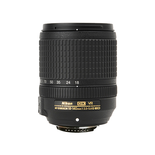 Nikon AF-S DX 18-140 мм f/3.5-5.6 г ED VR (белая коробка)