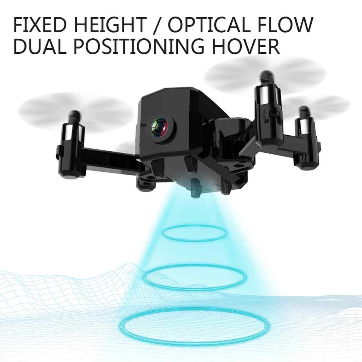 Мини складной Радиоуправляемый Дрон HD Квадрокоптер с камерой L102 WiFi FPV Смарт следующий складной карманный камера радиоуправляемые дроны Дрон батарея