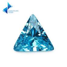 3x3 ~ 10х10 мм треугольная форма 5a средняя часть камня кубический