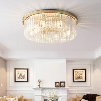 цена на Modern Led Ceiling Lights For Living Room Bedroom Study Room Crystal lustre plafonnier Home Deco Ceiling Lamp avize