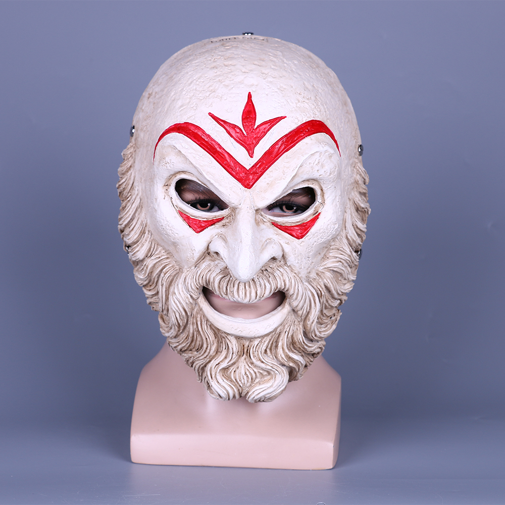 Game Assassin Creed Odyssey Hierarch Mask Resin Cosplay Accessories Halloween Props Prom Party Resin Mask Gift (15)