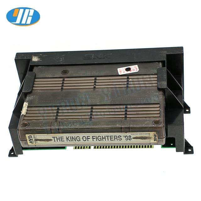オリジナル SNK ゲームボードマザーボードファイター 98 ゲーム歳ゲーム Jamma アーケードカートリッジ