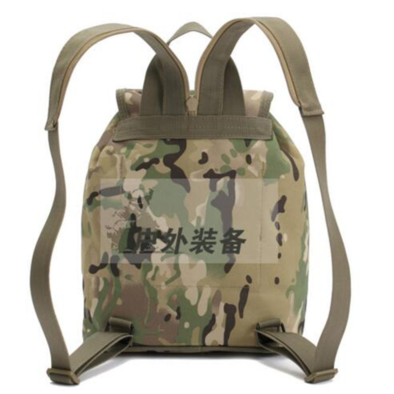 a61fcf0382 Best selling camouflage backpack army fan men s and women s small chest  bales walking outdoors travel backpack mochila-in Backpacks from Luggage    Bags on ...