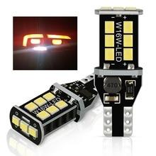 W16W LED T15 LED Bulb Canbus 921 NO OBC Error Free Car Backup Reserve Lights Bulb For VW Golf 4 5 7 6 Passat B5 B6 B7 Touareg