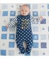 2015 nuevos mamelucos de los bebés y de las muchachas de la ropa ropa linda del bebé mamá y papá mamelucos del bebé